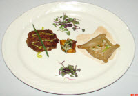 Award winning dish - Trio of Crab - ORDER TODAY!